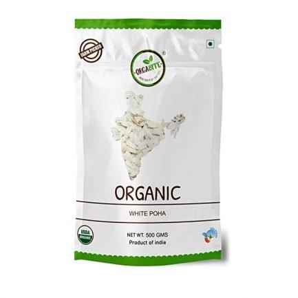 ORGABITE Organic White Poha