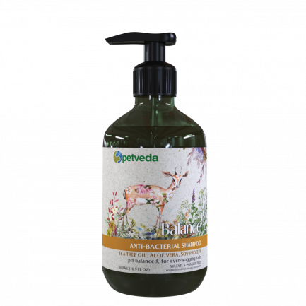 Petveda Balance - Anti-Bacterial Shampoo (500ml)