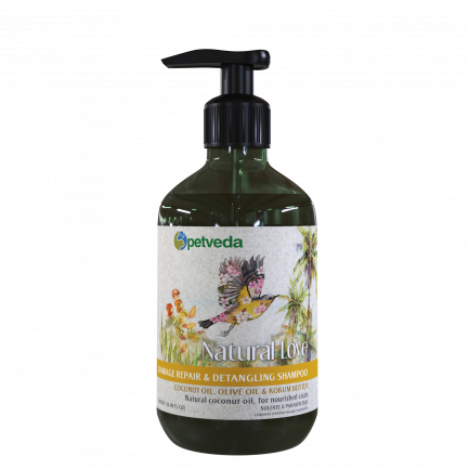 Natural Love - Damage Repair & Detangling Shampoo 500ml