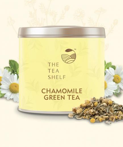 The Tea Shelf Chamomile Green Tea