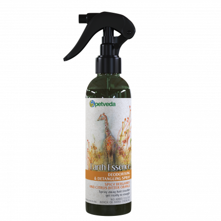 Petveda Earth Essence - Spicy Bergamot & Citrus Bitter Orange Deodorizing Spray (250ml)