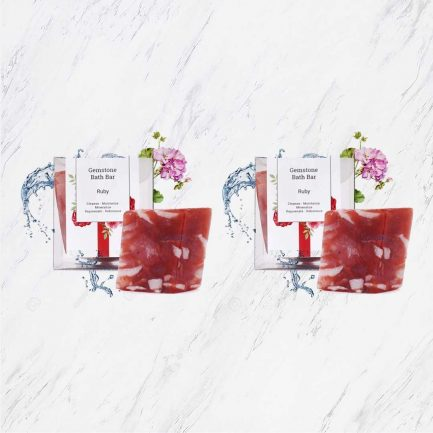 Seer Secrets Ruby Gemstone Bath Bar COMBO