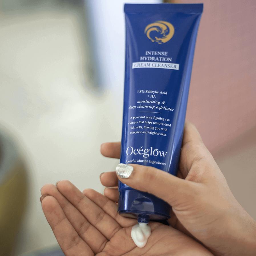 Oceglow - Intense Hydration Cream Cleanser (180ml)