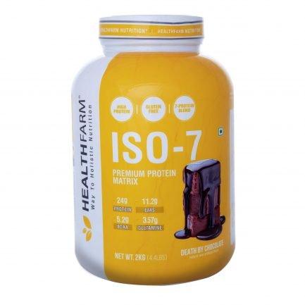 Health Farm ISO 7 Premium Protein Matrix (Death by Chocolate) (2kg)