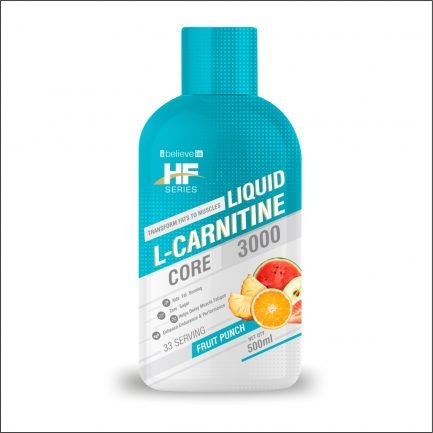 Health Farm L-Carnitine Core 3000mg - Fruit Punch (500ml)