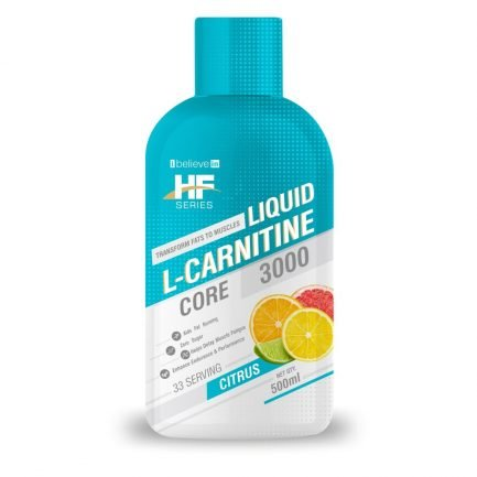 Health Farm Liquid L-Carnitine Core 3000mg - Citrus (500ml)