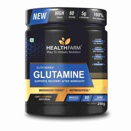 Health Farm L-Glutamine (250gm)