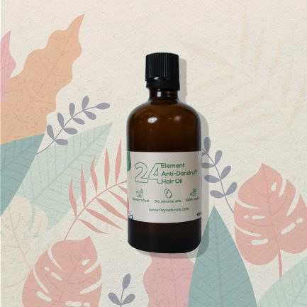 Foy Naturals 24 Element Anti Dandruff Hair Oil (100ml)