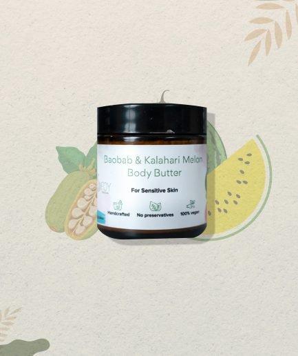 Foy Naturals Baobab & Kalahari Melon Body Butter (75gm)