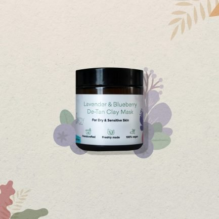 Foy Naturals Lavender & Blueberry De-Tan Clay Mask (100gm)