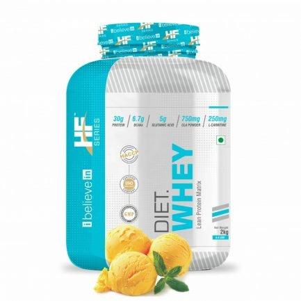 Health Farm Diet Whey (Lean Protein) (Mango Delight) (2 Kg)