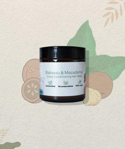 Foy Naturals Babassu & Macadamia Deep Conditioning Hair Mask (100gm)