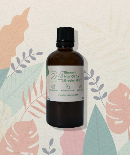 Foy Naturals 24 Element Oil for Greying Hair (100ml)