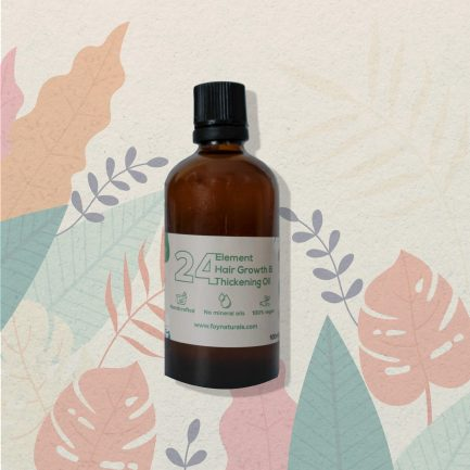 Foy Naturals 24 Element Hair Growth & Thickening Oil (100ml)