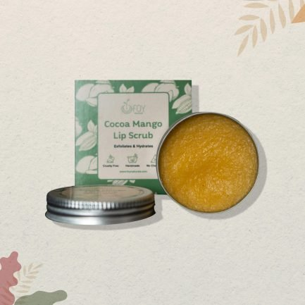 Foy Naturals Coco Mango Exfoliating Lip Scrub (15gm)