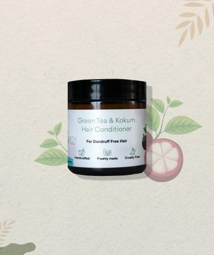 Foy Naturals Green Tea & Kokum Hair Conditioner (100gm)