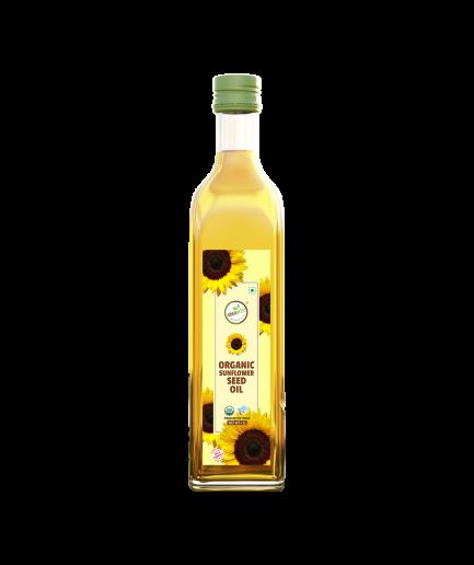 Orgabite Organic Sunflower Seed Oil (500ml)