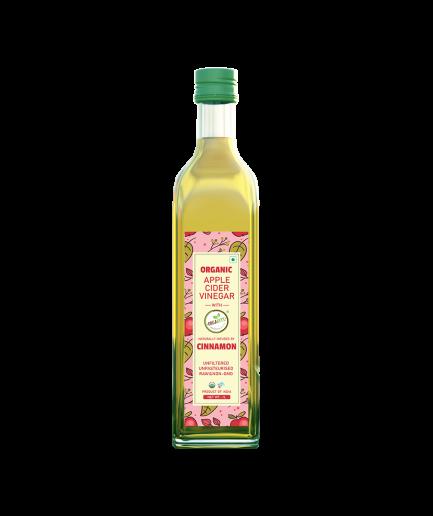 Orgabite Organic Apple Cider Vinegar (Cinnamon & Fenugreek) (500ml)