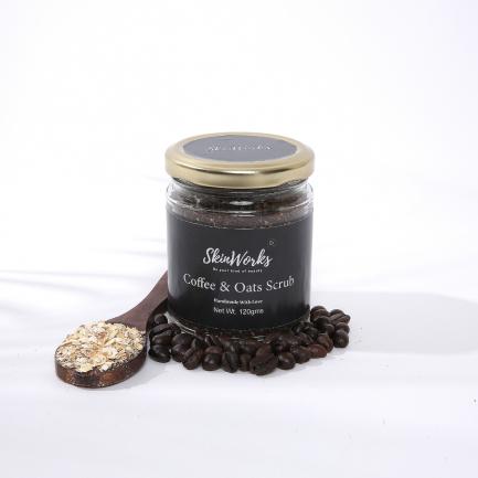 Skinworks Coffee & Oats Body Scrub (120gm)