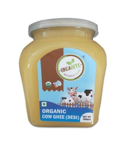Orgabite Certified Organic Ghee (500ml)