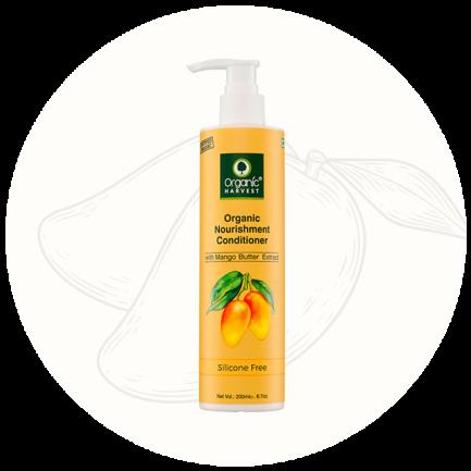 Organic Harvest Nourishment Conditioner - Mango Butter (200ml)