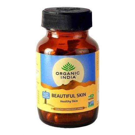 Organic India Beautiful Skin Capsules - Healthy Skin
