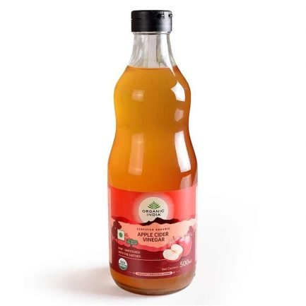 Organic India Apple Cider Vinegar (500ml)
