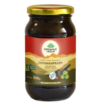 Organic India Certified Organic Chyawanprash (500gm) - Immunity Booster