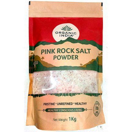 Organic India Pink Rock Salt (1 Kg)