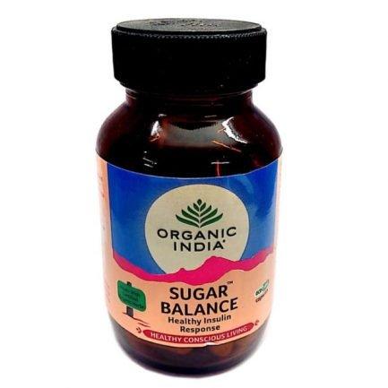 Organic India Sugar Balance Capsules