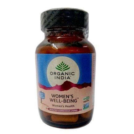 Organic India Women Health Supplement Capsules