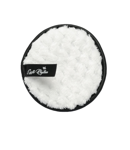 Earth Rhythm Reusable Makeup Remover/Cleansing Pads - Black