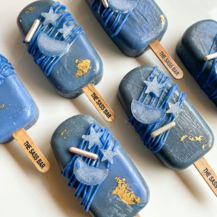 Midnight Moon Popsicle Soap