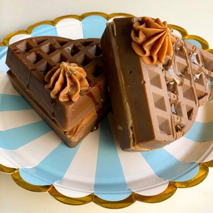 The Sass Bar Caramel Chocolate Waffle Soap (115 gm)