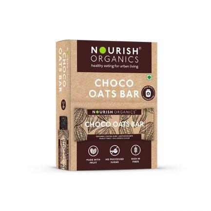 Nourish Organics - Choco Oats Bar (Pack of 6) (180gm)