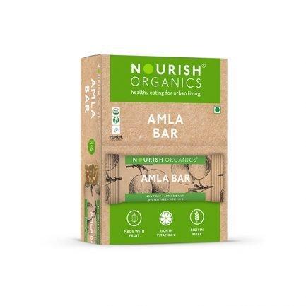 Nourish Organics - Amla Bar (Pack of 6) (180gm)