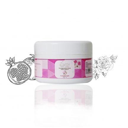 Foy Naturals - Pomegranate & Rose Body Yoghurt