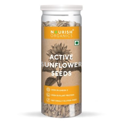 Nourish Organics – Active Sunflower Seeds (150gm)