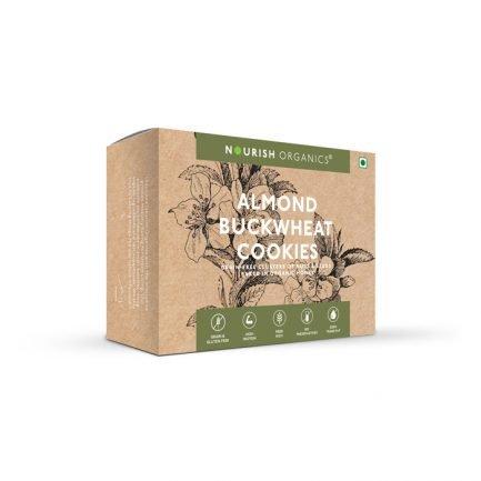 Nourish Organics – Chia Turmeric Cookies (125gm)