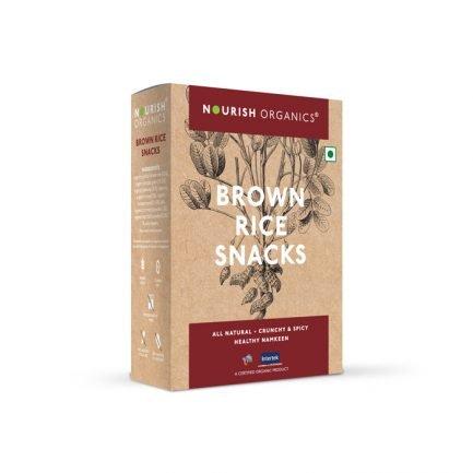 Nourish Organics – Brown Rice Snacks (150gm)