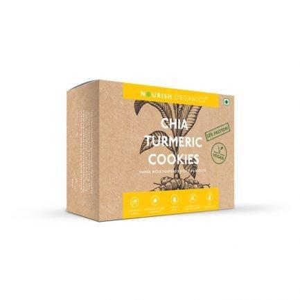 Nourish Organics – Chia Turmeric Cookies (110gm)