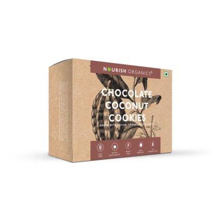 Nourish Organics – Chocolate Coconut Cookies (140gm)