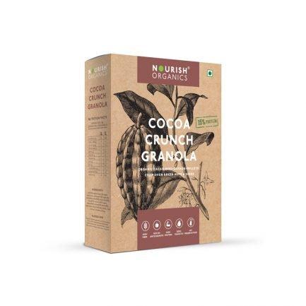 Nourish Organics - Cocoa Crunch Granola (300gm)