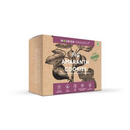 Nourish Organics – Fig Amaranth Cookies (125gm)