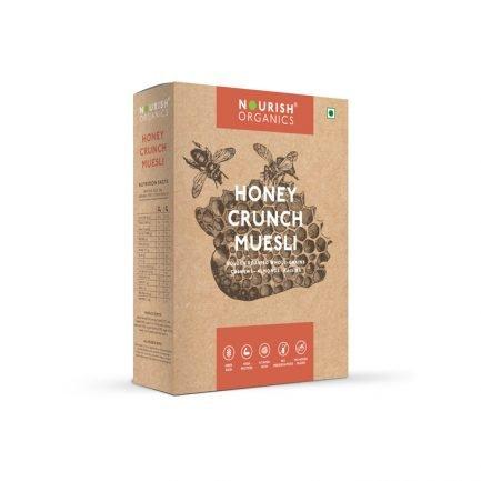 Nourish Organics - Honey Crunch Muesli (300gm)