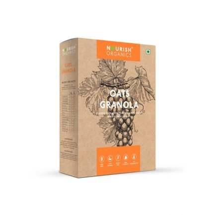 Nourish Organics - Oats Granola (300gm)