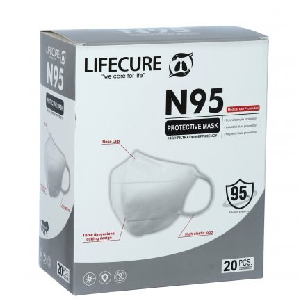 Lifecure N95 Five Layer Protective Mask (Pack of 20)