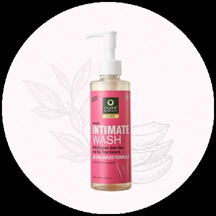 Organic Harvest Organic Intimate Wash (100ml)
