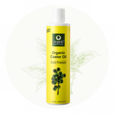 Organic Harvest Organic Castor Oil (200ml)