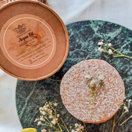 Laviche - Argan Oil Shampoo Bar (100gm)
